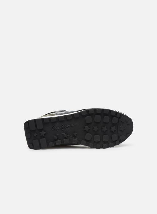 Baskets Pepe jeans Dean Fashion C Noir vue haut