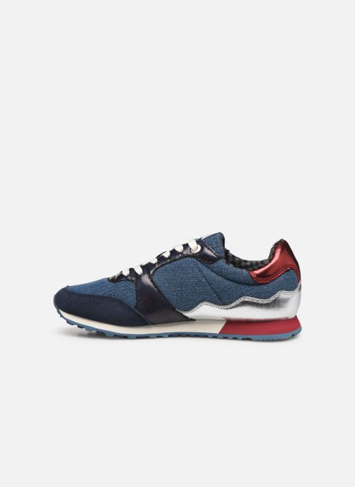 Trainers Pepe jeans Verona W Fray C Blue front view