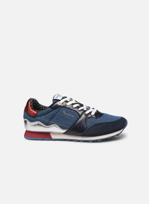 Trainers Pepe jeans Verona W Fray C Blue back view