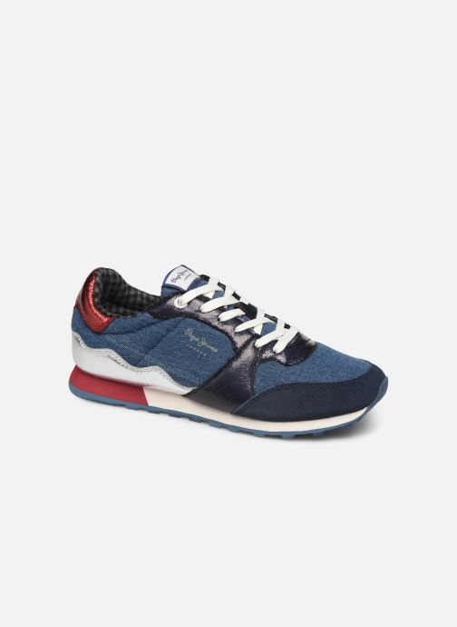 Trainers Pepe jeans Verona W Fray C Blue detailed view/ Pair view