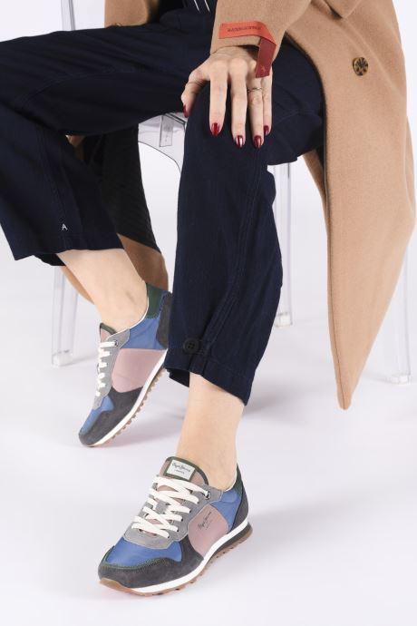 Baskets Pepe jeans Verona W Traveller C Multicolore vue bas / vue portée sac