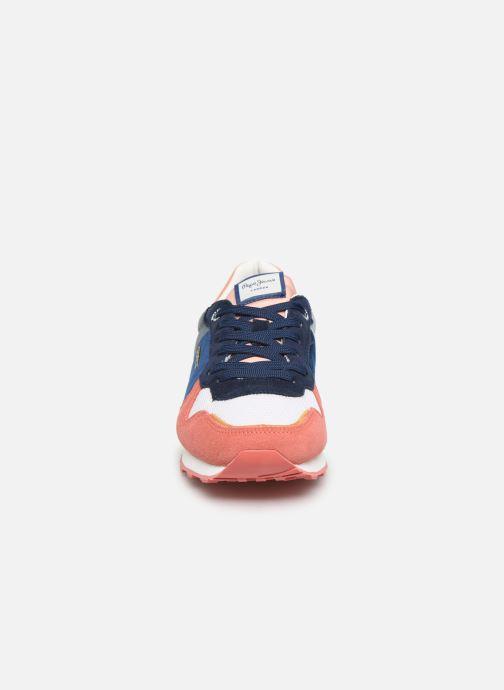 Baskets Pepe jeans Verona W Velvet C Multicolore vue portées chaussures