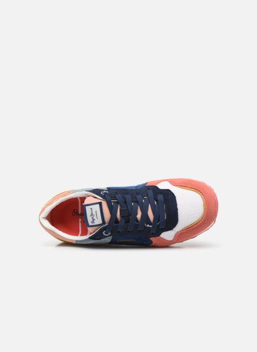Baskets Pepe jeans Verona W Velvet C Multicolore vue gauche