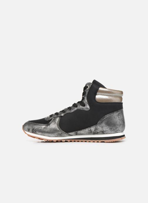 Sneaker Pepe jeans Verona W Twin Bootie C grau ansicht von vorne