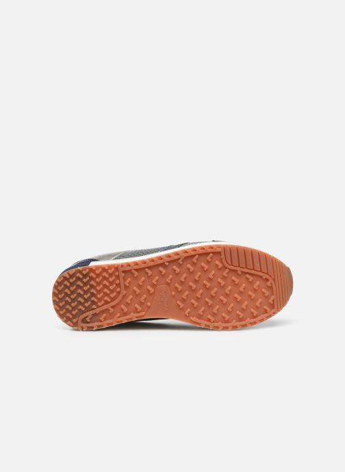 Baskets Pepe jeans Zion Mesh C Bleu vue haut