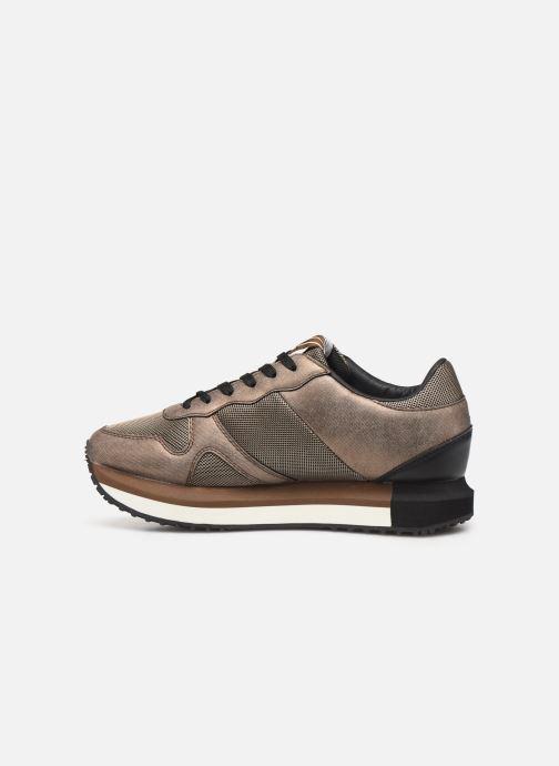 Sneakers Pepe jeans Zion Mesh C Goud en brons voorkant