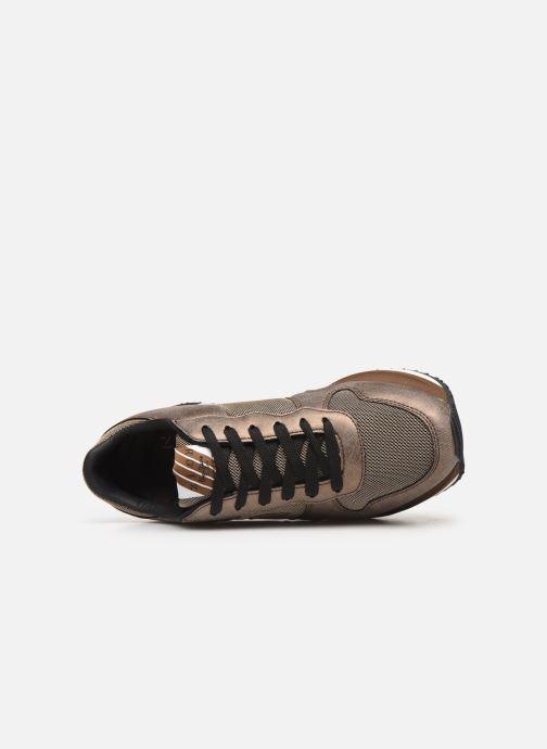 Sneakers Pepe jeans Zion Mesh C Goud en brons links
