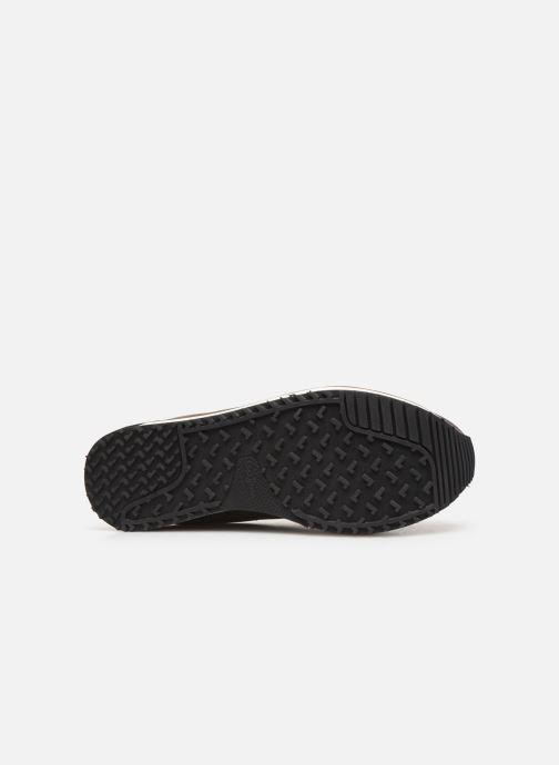 Baskets Pepe jeans Zion Mesh C Or et bronze vue haut