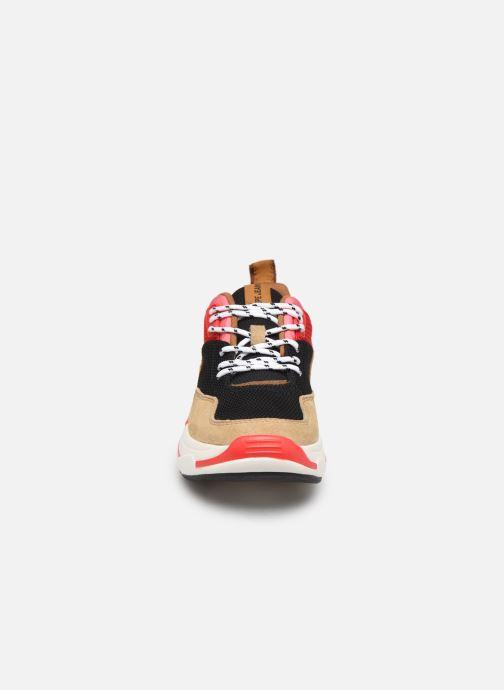 Baskets Pepe jeans Sinyu New Colors C Multicolore vue portées chaussures