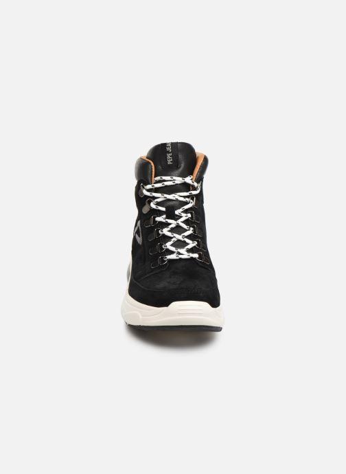 Baskets Pepe jeans Sinyu Treck C Noir vue portées chaussures