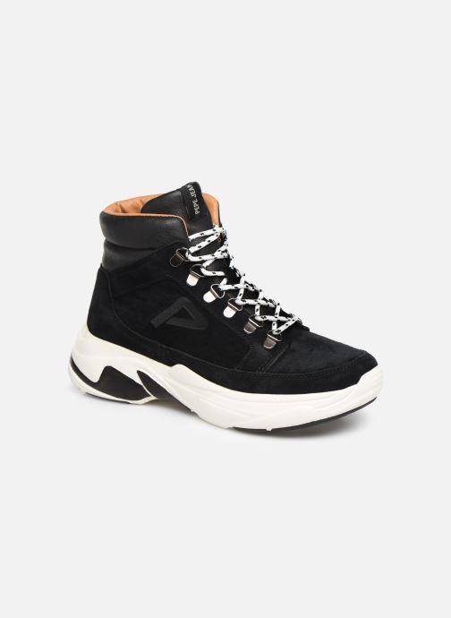 Baskets Pepe jeans Sinyu Treck C Noir vue détail/paire
