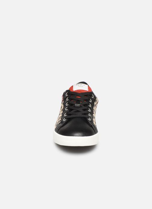Baskets Pepe jeans Kioto C Marron vue portées chaussures