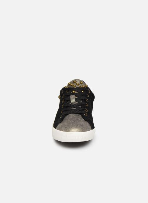 Baskets Pepe jeans Kioto C Noir vue portées chaussures