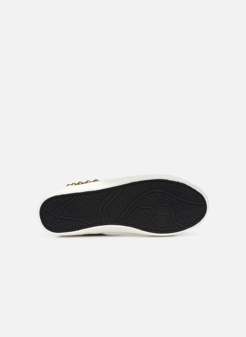 Baskets Pepe jeans Kioto C Noir vue haut
