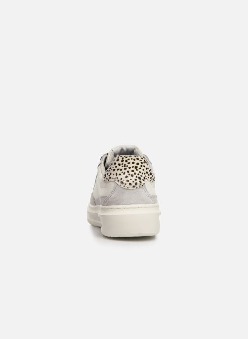 Trainers Pepe jeans Abbey Bass C White view from the right