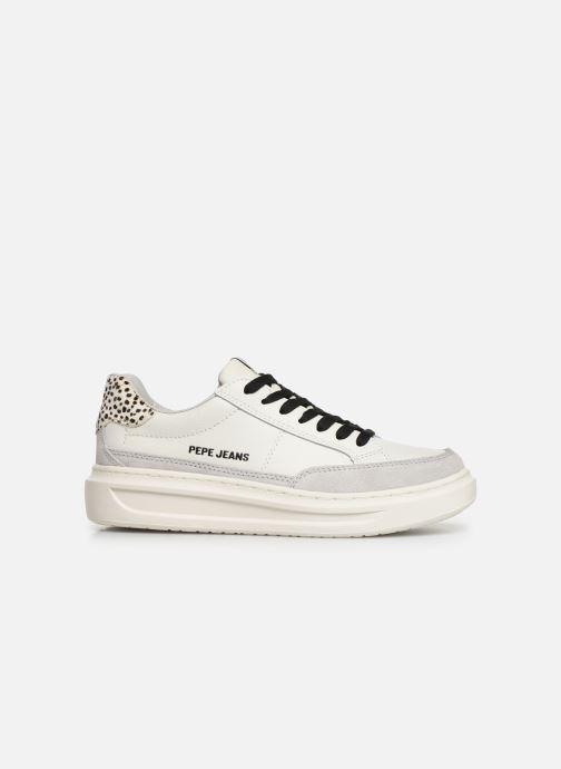 Baskets Pepe jeans Abbey Bass C Blanc vue derrière