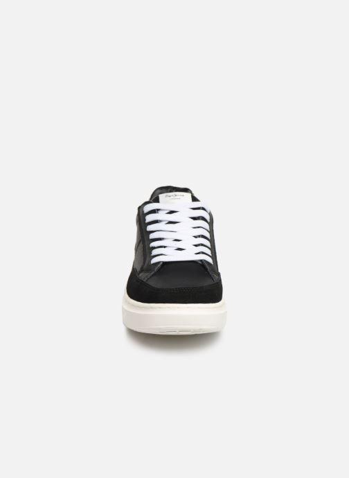 Baskets Pepe jeans Abbey Bass C Noir vue portées chaussures