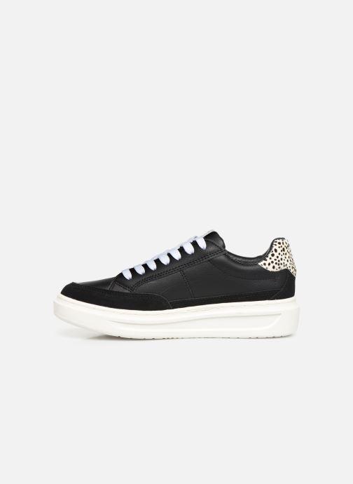 Sneakers Pepe jeans Abbey Bass C Zwart voorkant