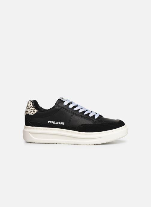 Sneakers Pepe jeans Abbey Bass C Zwart achterkant
