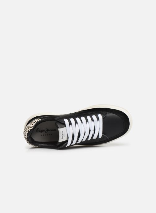 Sneakers Pepe jeans Abbey Bass C Zwart links