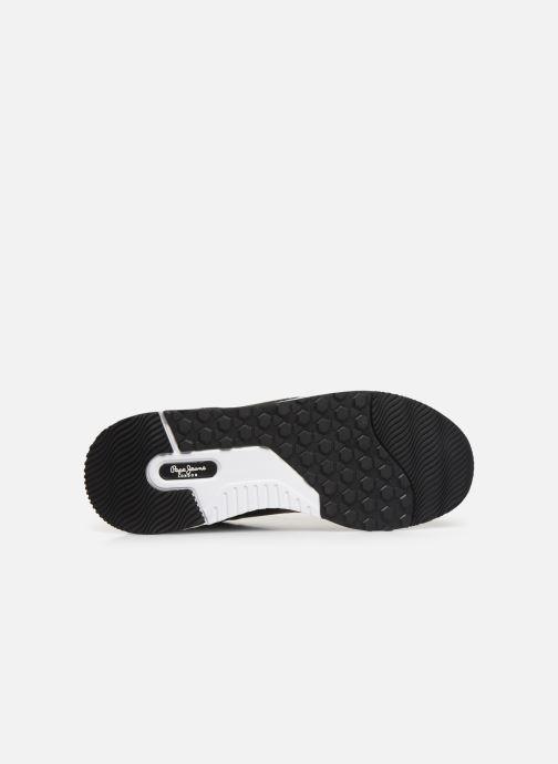 Baskets Pepe jeans Koko Sandy C Noir vue haut