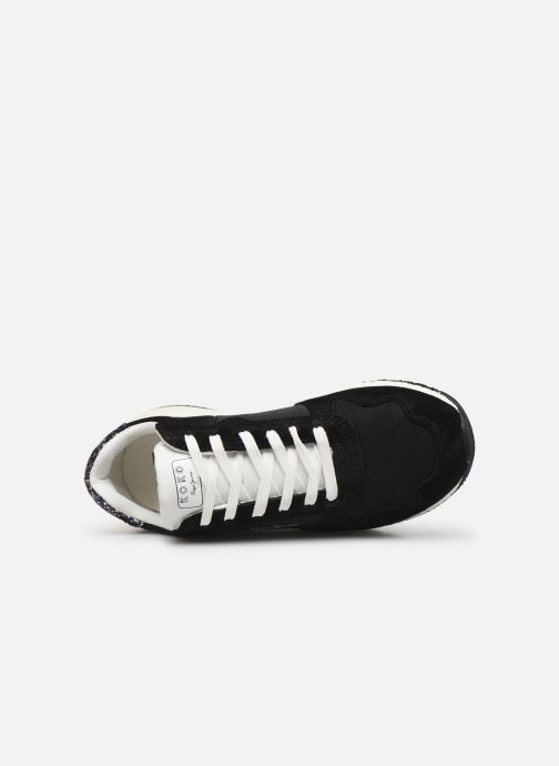 Sneakers Pepe jeans Koko Sky C Zwart links