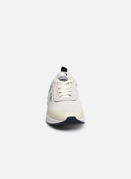 Trainers Pepe jeans Nº22 W C White model view