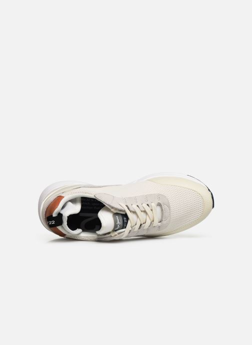 Trainers Pepe jeans Nº22 W C White view from the left