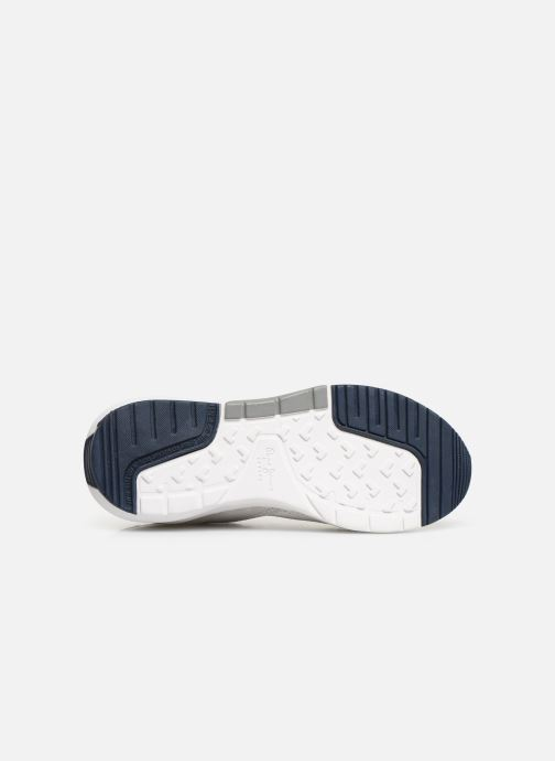 Trainers Pepe jeans Nº22 W C White view from above