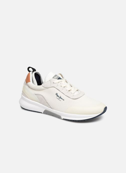 Trainers Pepe jeans Nº22 W C White detailed view/ Pair view