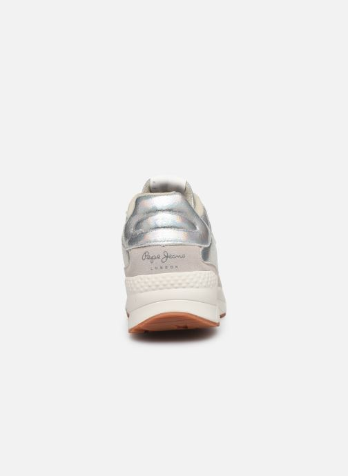 Sneakers Pepe jeans Harlow Up Reflect C Argento immagine destra