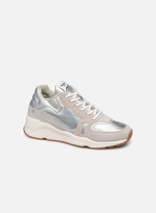 Sneakers Pepe jeans Harlow Up Reflect C Argento vedi dettaglio/paio