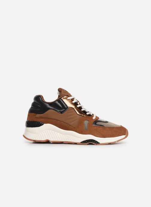 Sneakers Pepe jeans Harlow Up Run C Bruin achterkant