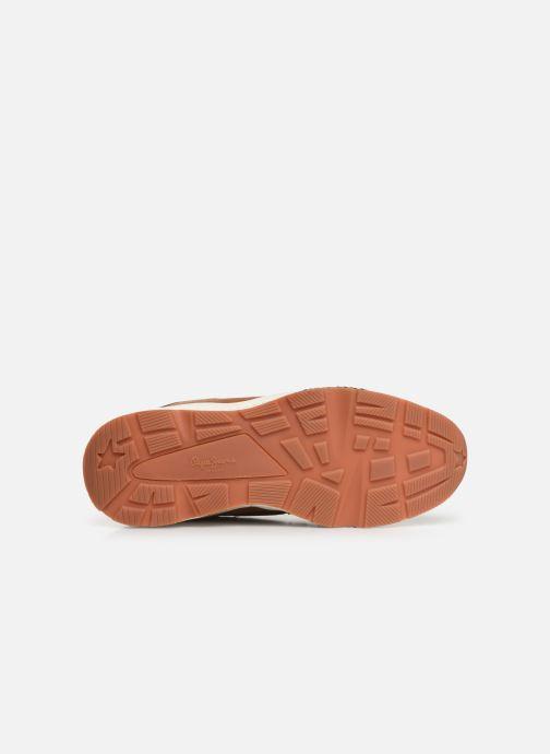 Sneakers Pepe jeans Harlow Up Run C Bruin boven
