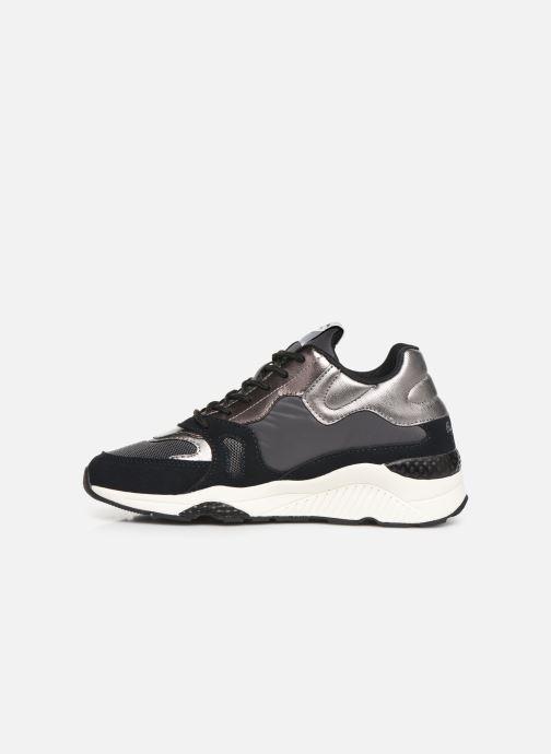 Sneakers Pepe jeans Harlow Up Run C Zwart voorkant