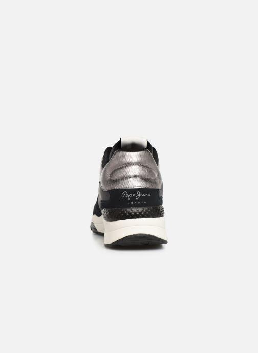 Sneaker Pepe jeans Harlow Up Run C schwarz ansicht von rechts