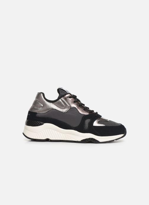 Sneaker Pepe jeans Harlow Up Run C schwarz ansicht von hinten