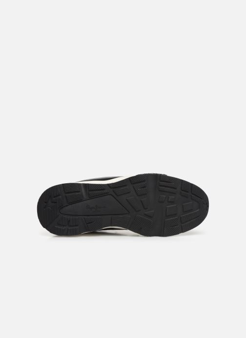 Baskets Pepe jeans Harlow Up Run C Noir vue haut