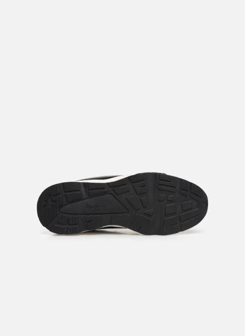 Sneaker Pepe jeans Harlow Up Run C schwarz ansicht von oben