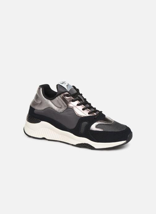 Sneakers Pepe jeans Harlow Up Run C Zwart detail