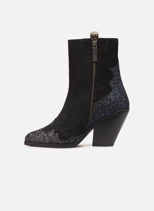Bottines et boots Pepe jeans Hampstead Shine C Noir vue face
