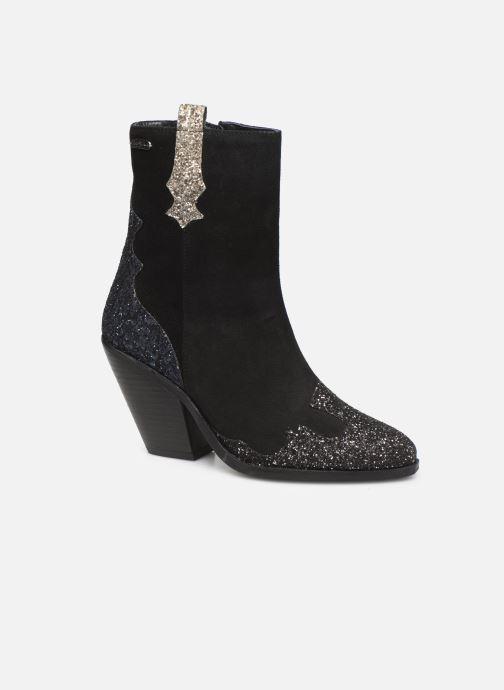 Bottines et boots Pepe jeans Hampstead Shine C Noir vue détail/paire