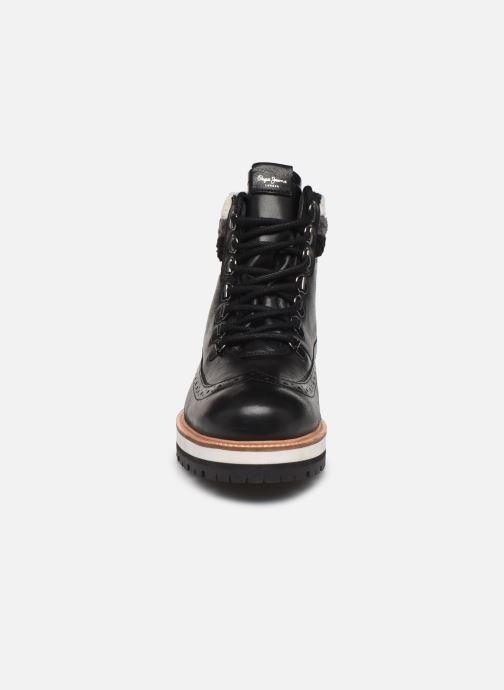Boots en enkellaarsjes Pepe jeans Montreal Hyke C Zwart model
