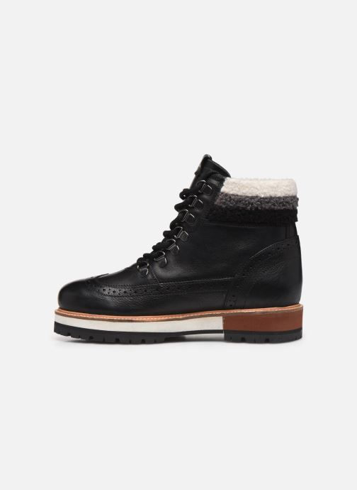 Boots en enkellaarsjes Pepe jeans Montreal Hyke C Zwart voorkant