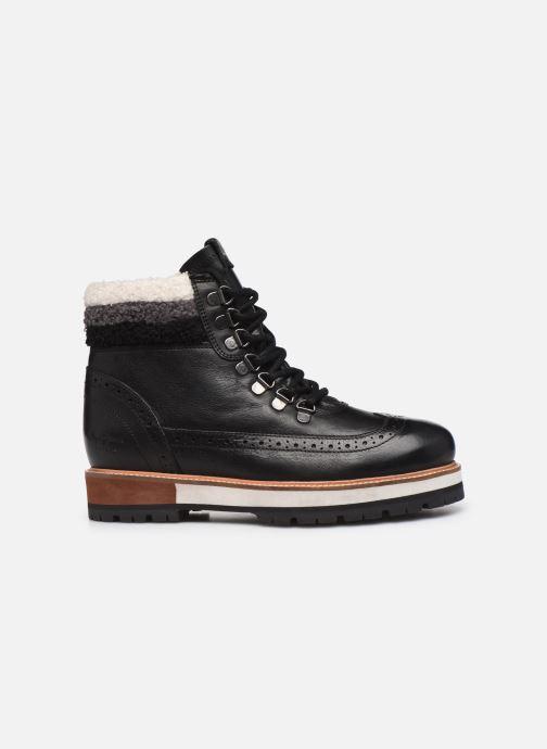 Boots en enkellaarsjes Pepe jeans Montreal Hyke C Zwart achterkant