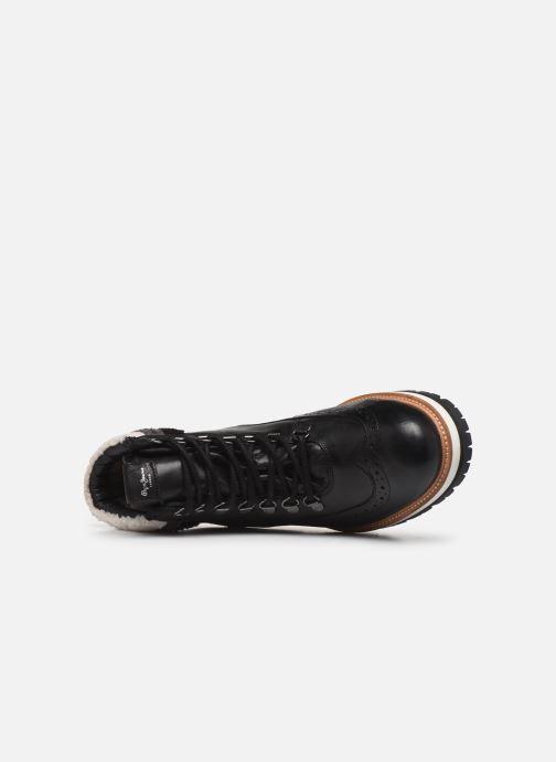 Boots en enkellaarsjes Pepe jeans Montreal Hyke C Zwart links