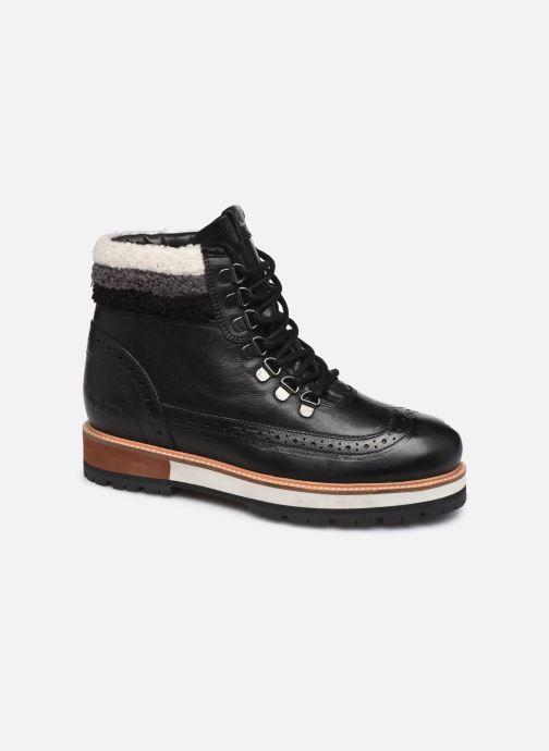 Boots en enkellaarsjes Pepe jeans Montreal Hyke C Zwart detail