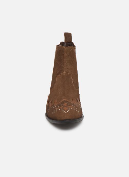 Bottines et boots Pepe jeans Chiswick Easy C Marron vue portées chaussures
