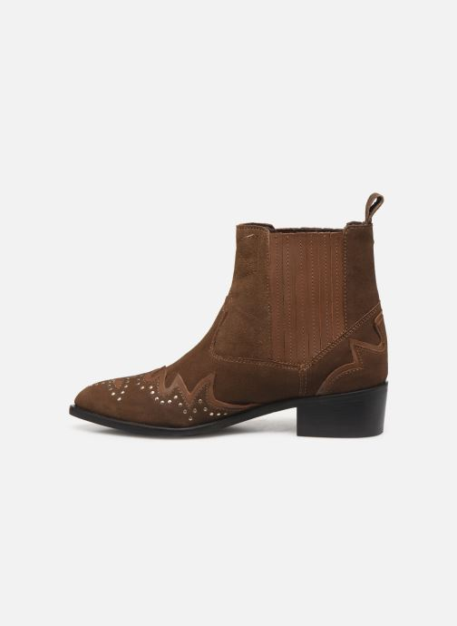 Bottines et boots Pepe jeans Chiswick Easy C Marron vue face