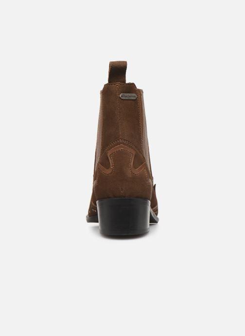 Boots Pepe jeans Chiswick Easy C Brun Bild från höger sidan